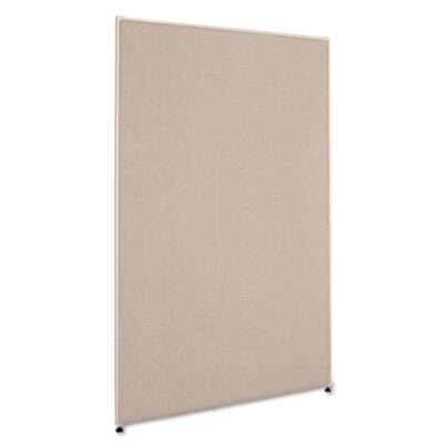 "60"" x 36"" divider panel gray"