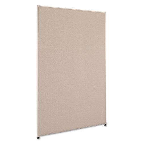"5' x 3'"" divider panel gray"