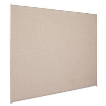 5' x 6' divider panel gray