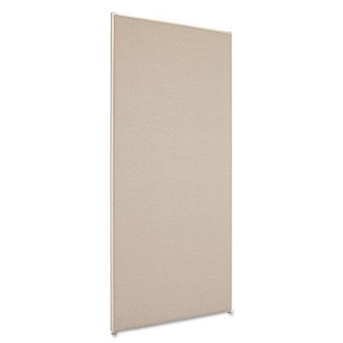 6' x2.5' divider panel gray