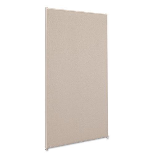6' x 3' divider panel gray