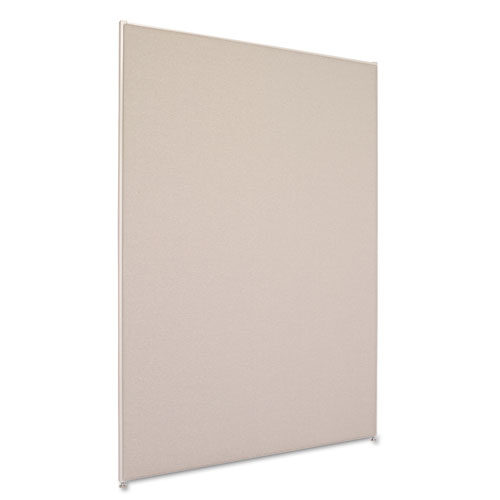 6' x 4' divider panel gray