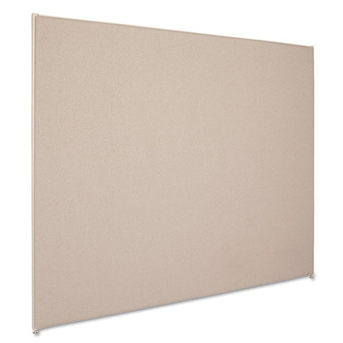 6' x 5' divider panel gray