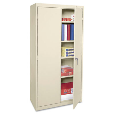 Storage Cabinet 36w x 18d x 72h Putty