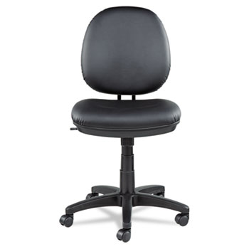 Office Task Chair black leather