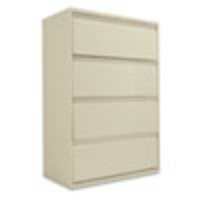 "ALLA54 36"" Four-Drawer Lateral File Putty"