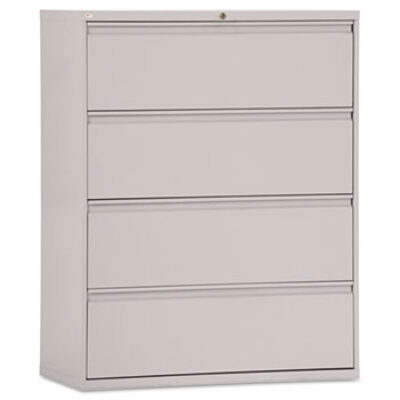 "ALLA5442 Four-Drawer Lateral File 42""w Light Gray"