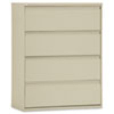"ALLA54 42""w 4-Drawer Lateral File Putty"