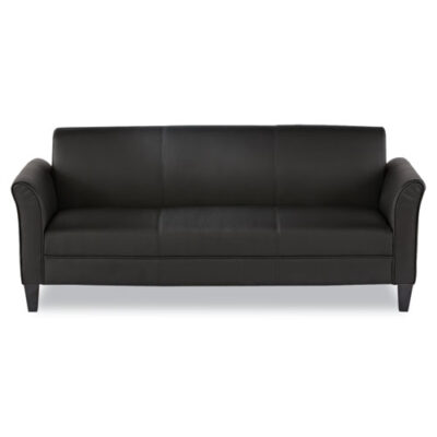ALRL21 Sofa black leather