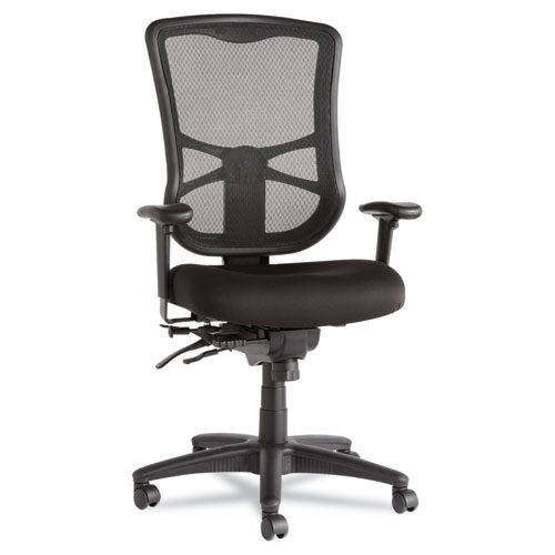 Ergonomic Mesh High-Back Multifunction Chair Black