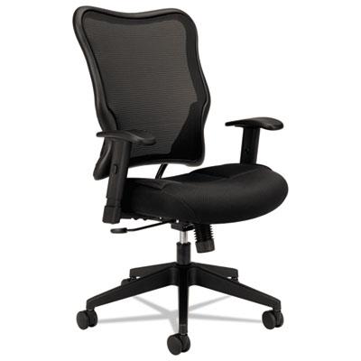 Mesh High-Back Swivel/Tilt Task Chair, Black
