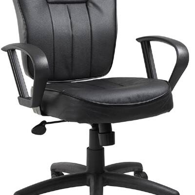 Leather Task Chair B156
