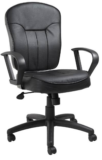 Mid-Back Task Chair Black