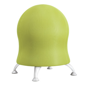 Green Zenergy ball chair