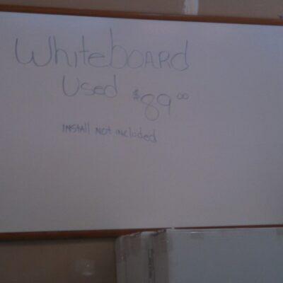 Used 4' x 6'  dry erase board