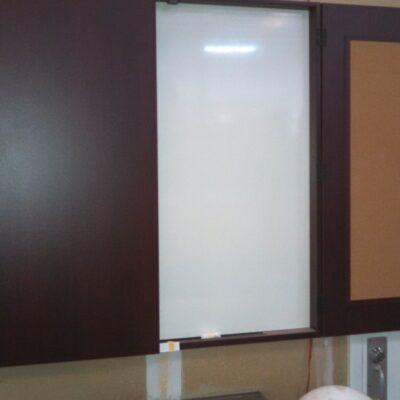 SDCA presentation cabinet mahogany