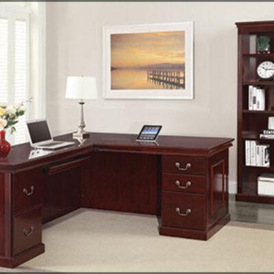 OS Traditional L-shape desk
