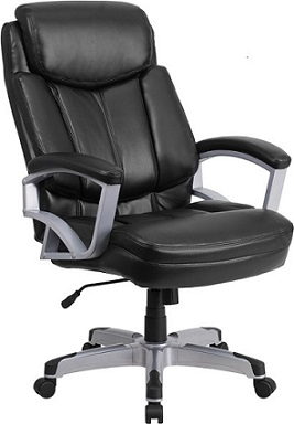 Contemporary Big & Tall Office Chair 500 lb. Weight Capacity High Back Design with Headrest