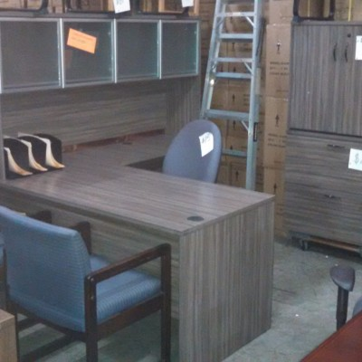 "66"" x 72""Laminate L-shape desk"