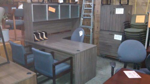 "66"" x 72""Laminate L-shape desk"
