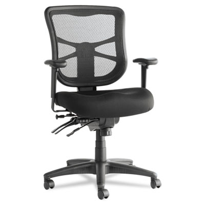 Ergonomic adjustable mesh mid-back chair