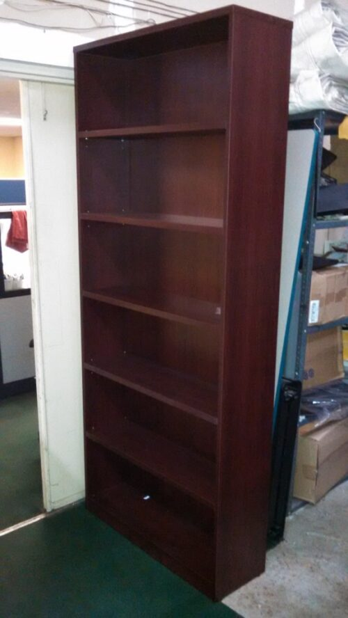 OS 7' laminate bookcase mah
