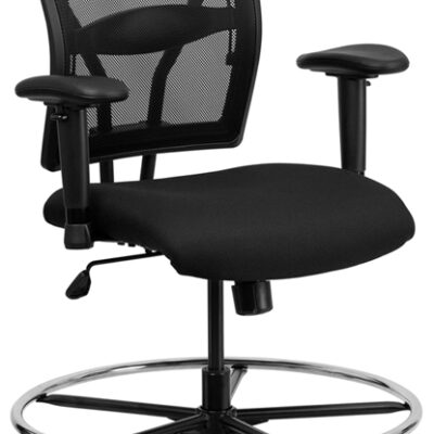 F-WL-502 Big & Tall Mesh Drafting Stool