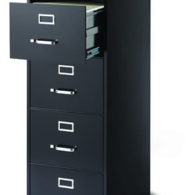 OD 5-Drawer legal BLK