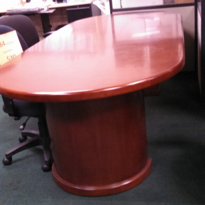 SDCR WOOD  8' OVAL CONFERENCE TABLE CHERRY