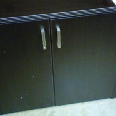 SDCA 2-Door Cabinet Espresso