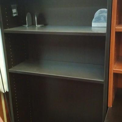 5-Shelf Bookcase Espresso