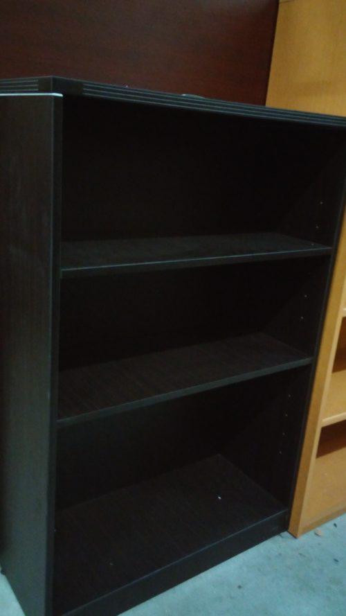 "Bookcase 32""w x 48"" x 14"" with 2-shelf adjustable Espresso laminate"