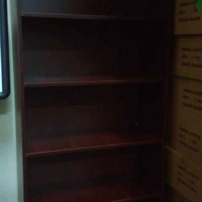 FOG 6' bookcase mahogany