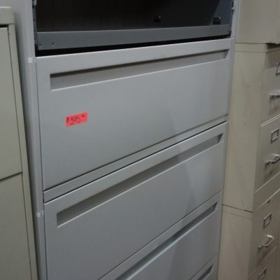 Used HON 795LQ 5-drawer lateral file