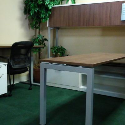 Open work space desk