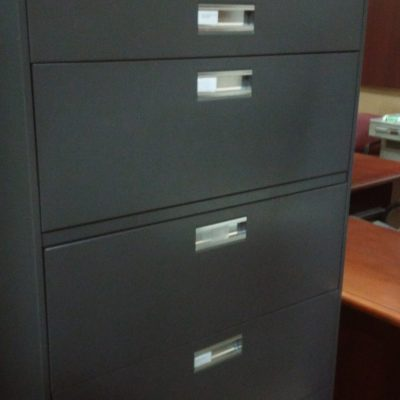 Used HON 685 5-drawer lateral file