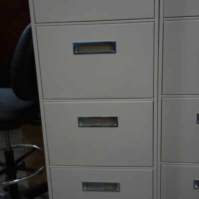 Used Steelcase 5-drawer letter file