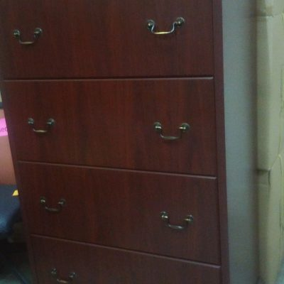 Used HON 94000 Traditional 4-drawer file mahogany
