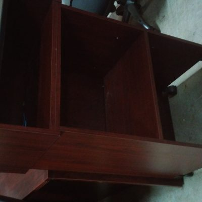 Used mobile lectern mahogany