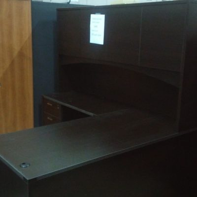 "5'6"" x 6' L-SHAPE DESK"