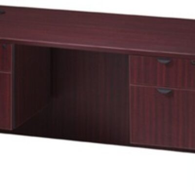 "30"" x 60"" Desk mahogany laminate"