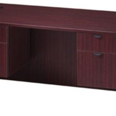 """30"""" x 60"""" Desk mahogany laminate"""