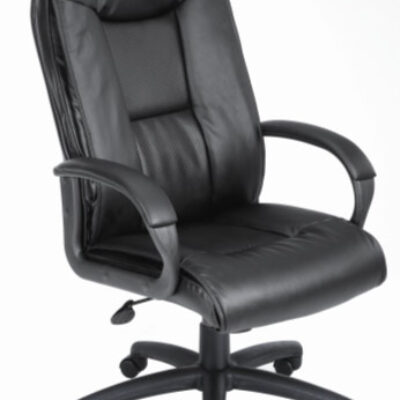 B760 black leather executive high back chair