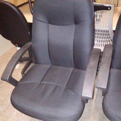 HON Executive High-Back Chair in Black Fabric