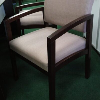 CO_170 wood guest chair taupe