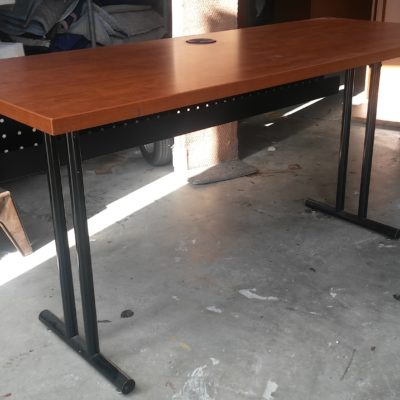 Used 5' training table cherry