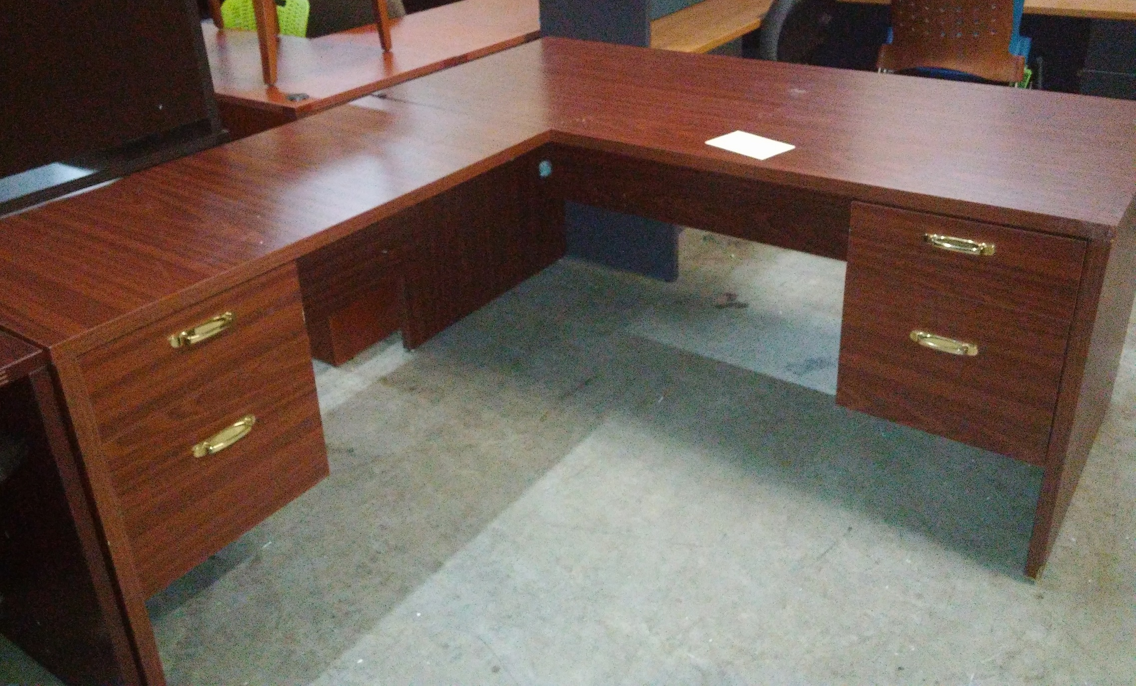 Used Gany 66 X 75 L Shape Desk