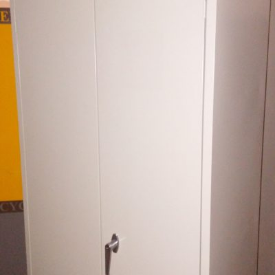 "Used 30"" X 18"" 72"" Storage Cabinet putty"
