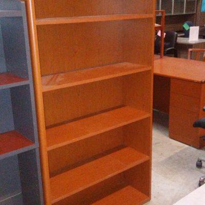 "Used HON 10700 72"" bookcase cherry laminate"