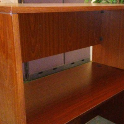 "Used 30"" table desk cherry laminate"